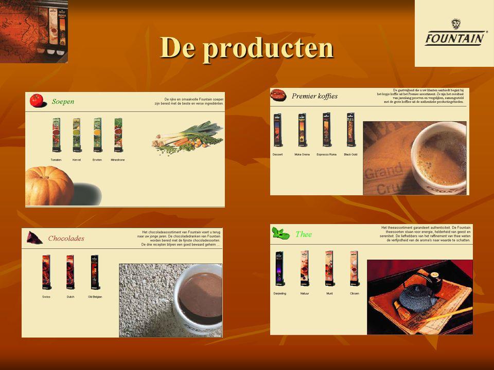 De producten
