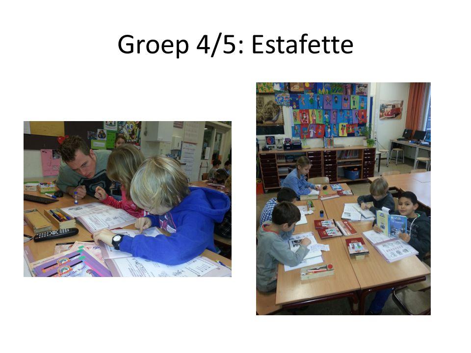 Groep 4/5: Estafette