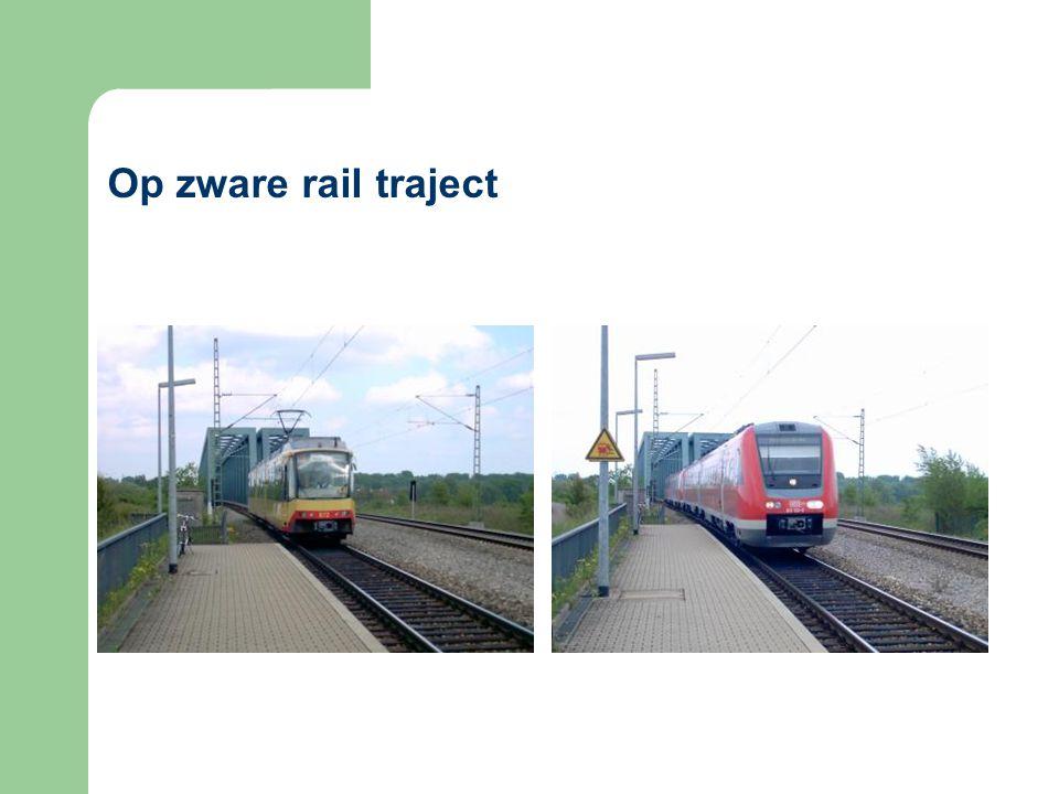 Op zware rail traject