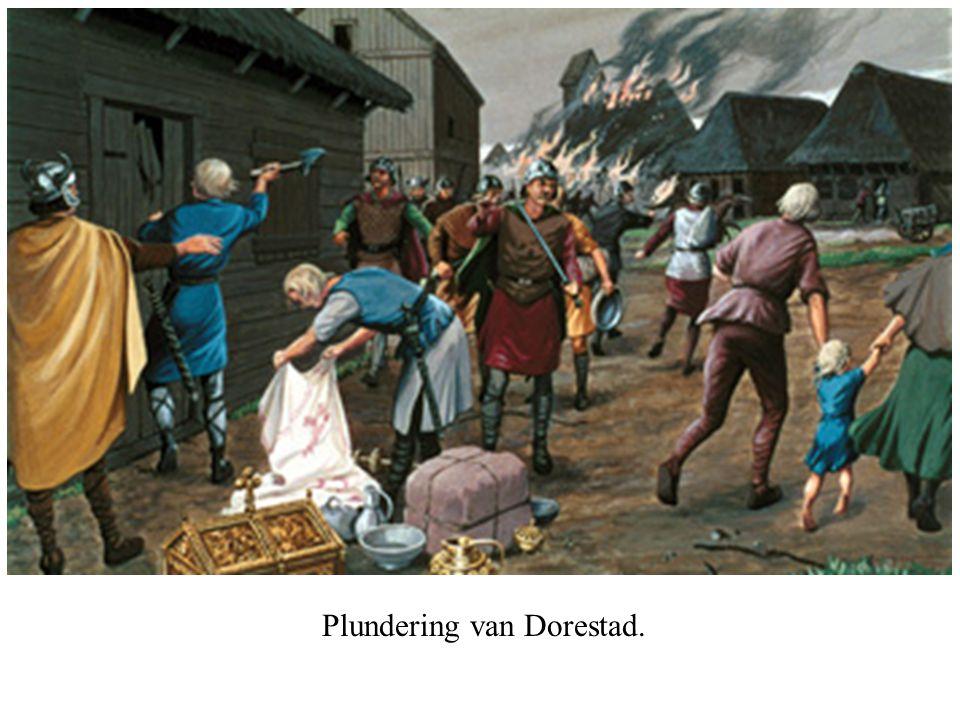 Plundering van Dorestad.