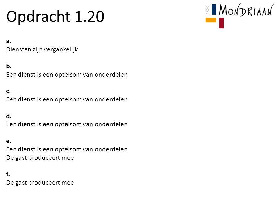 Huiswerk Voor opdracht 2.11 en 2.12: