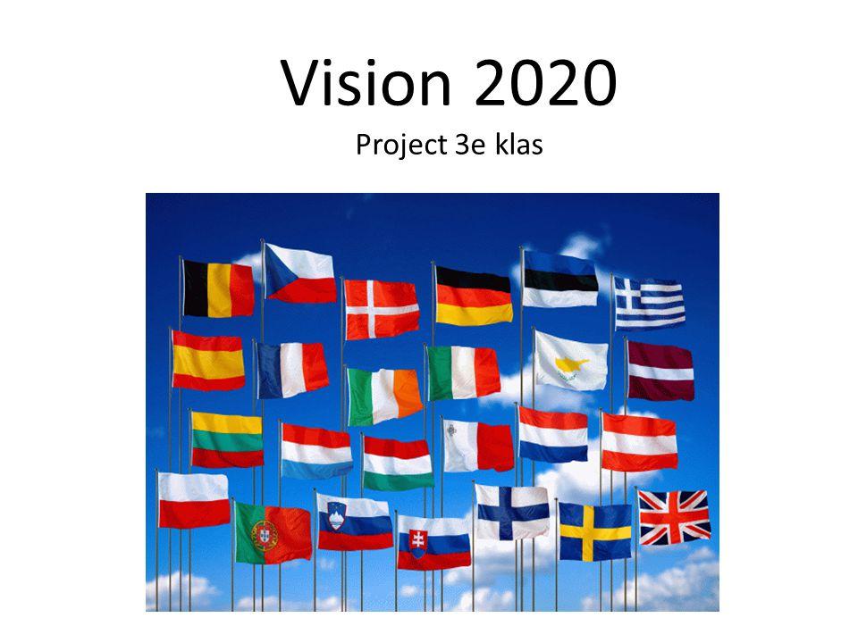 Vision 2020 Project 3e klas