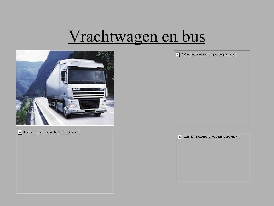 Vrachtwagen en bus