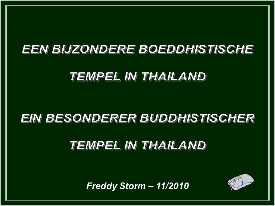 Dieser besondere Tempel ist 400 Meilen nordöstlich von Bangkok, in der Stadt Khun Han, nicht weit von der kambodschanischen Grenze, errichtet worden.
