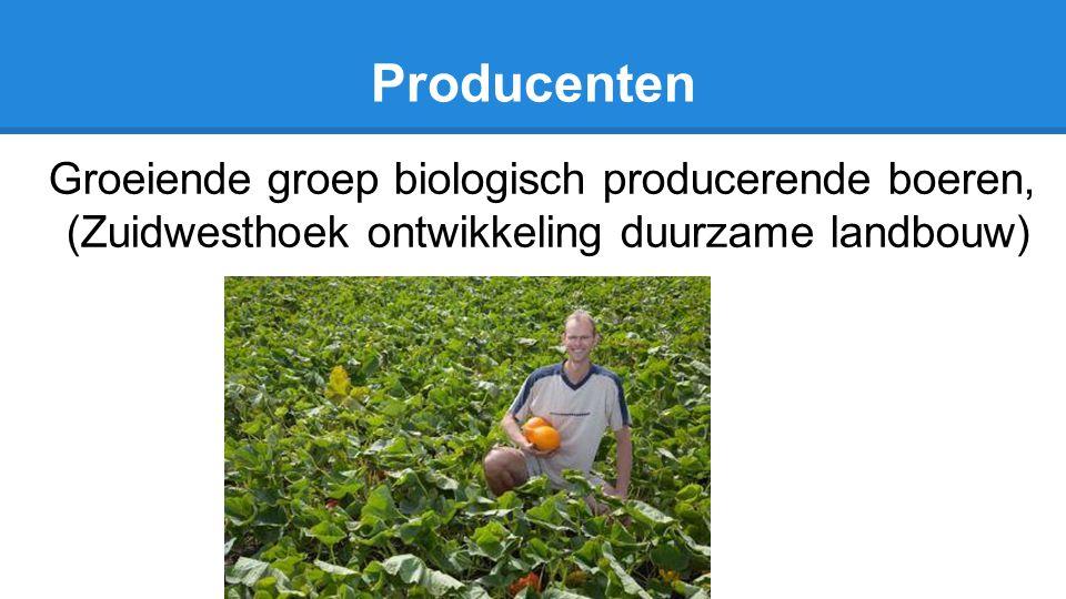 Producenten Groeiende groep biologisch producerende boeren, (Zuidwesthoek ontwikkeling duurzame landbouw)