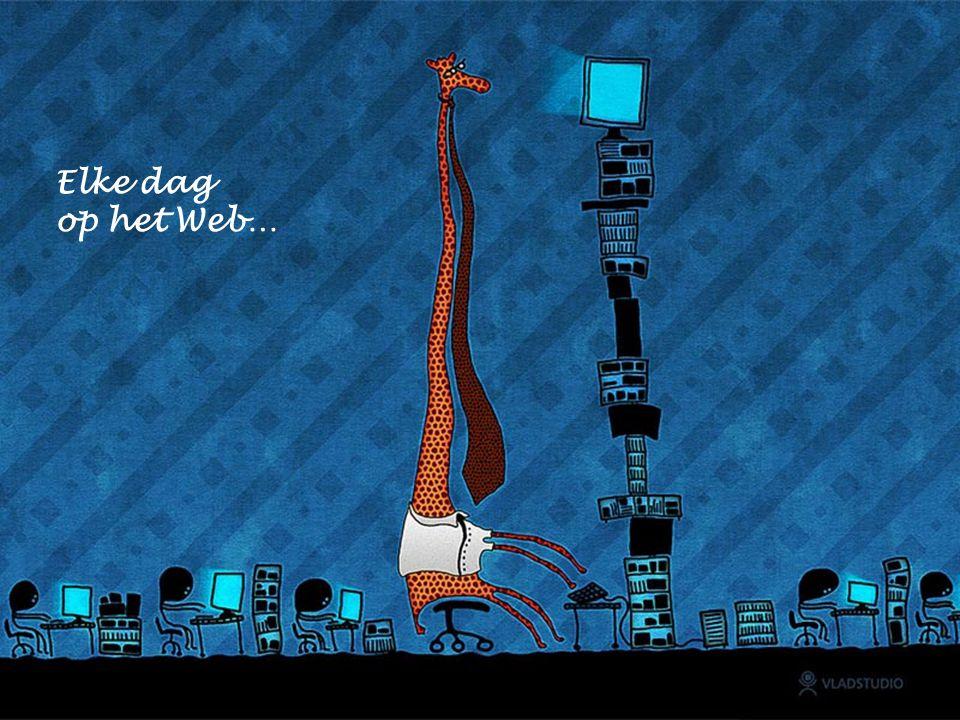 Elke dag op het Web…