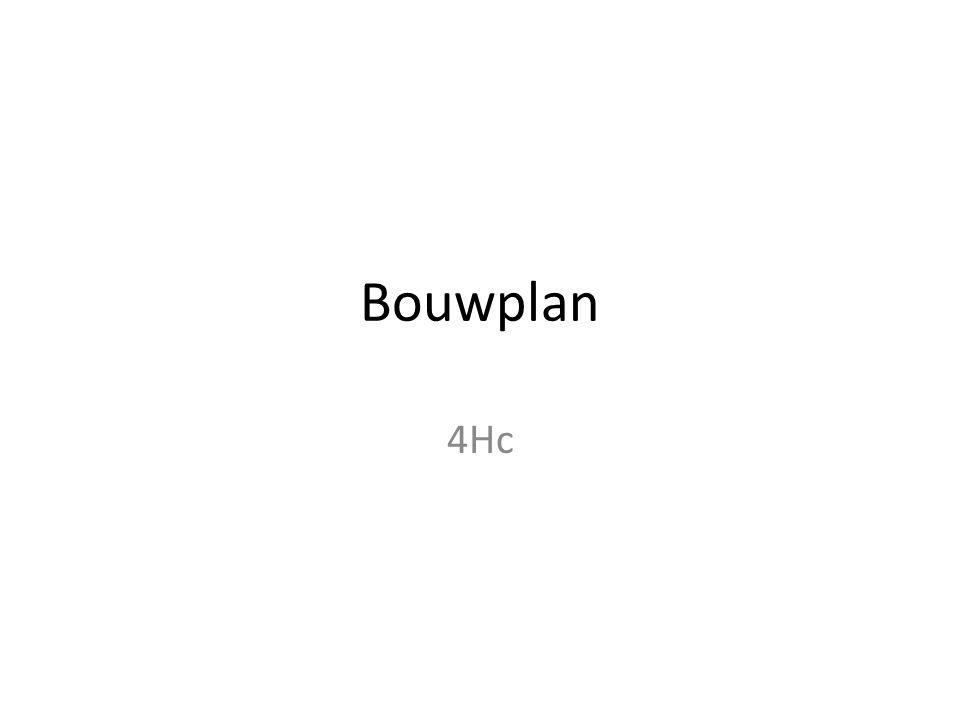 Bouwplan 4Hc
