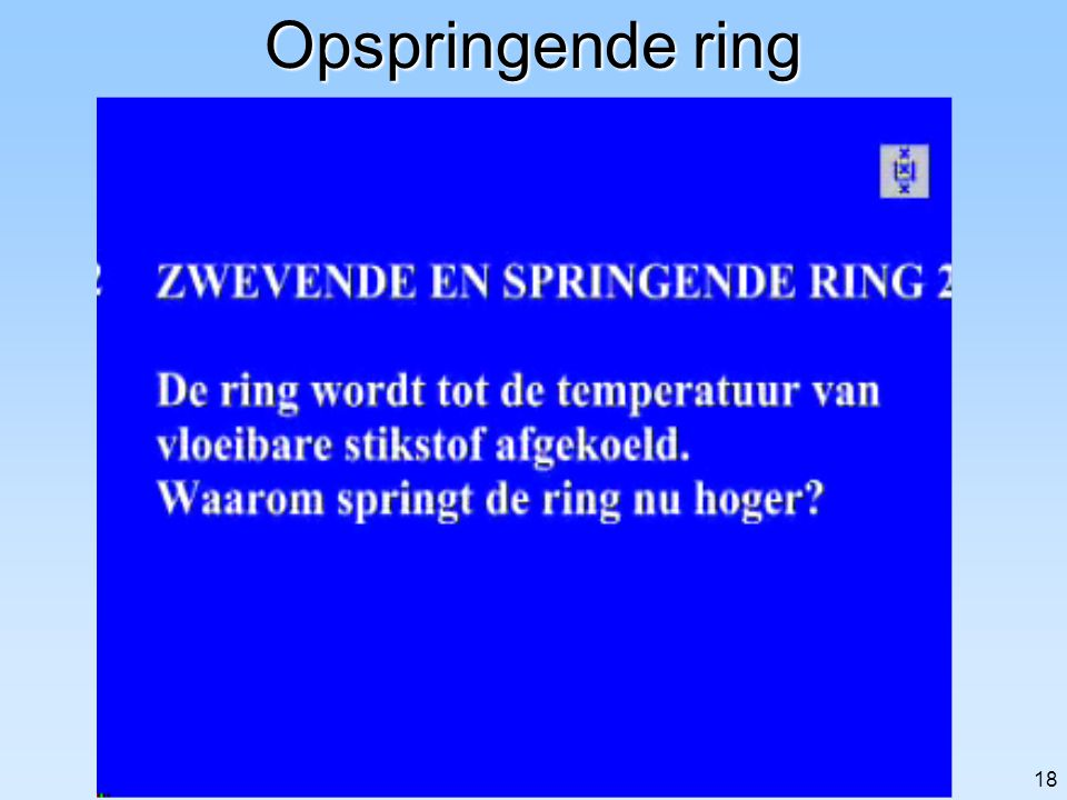 17 Zwevende ring