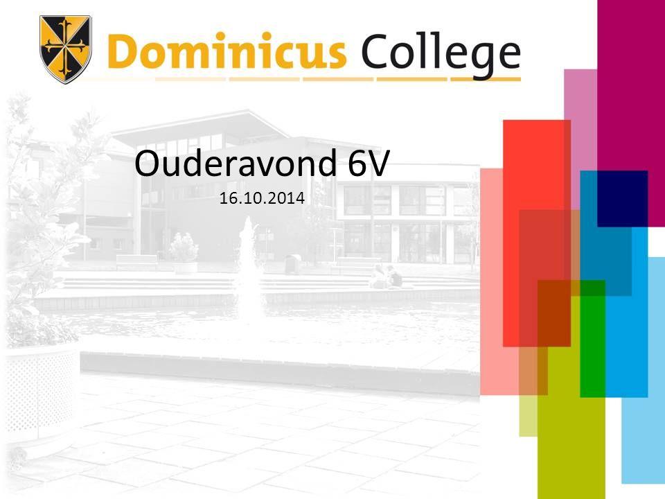 Programma Welkom Schoolzaken Rol van de mentor Rol van de ouders Extra activiteiten 6V Studie-oriëntatie