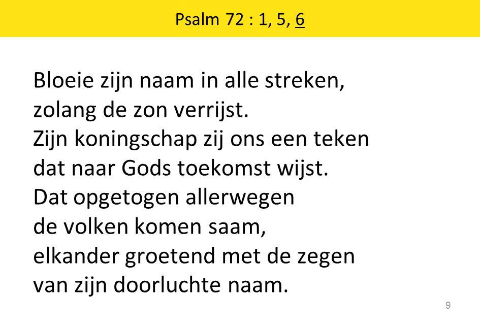 Stil gebed, votum, groet 10