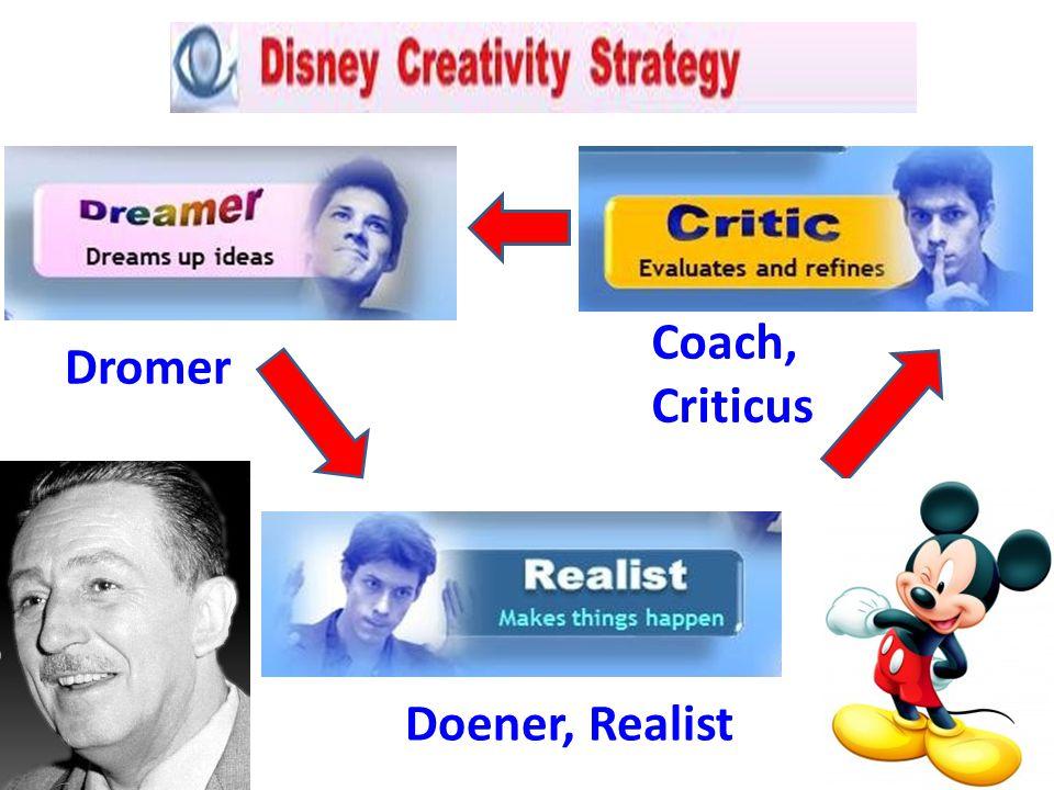 Dromer Doener, Realist Coach, Criticus