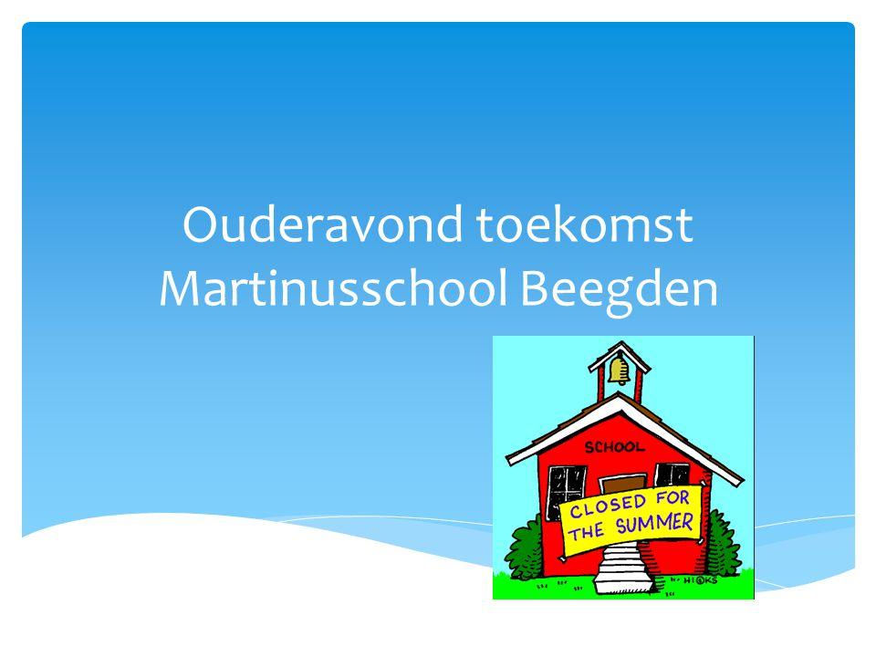 Ouderavond toekomst Martinusschool Beegden