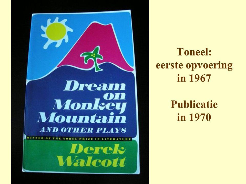Toneel: eerste opvoering in 1967 Publicatie in 1970
