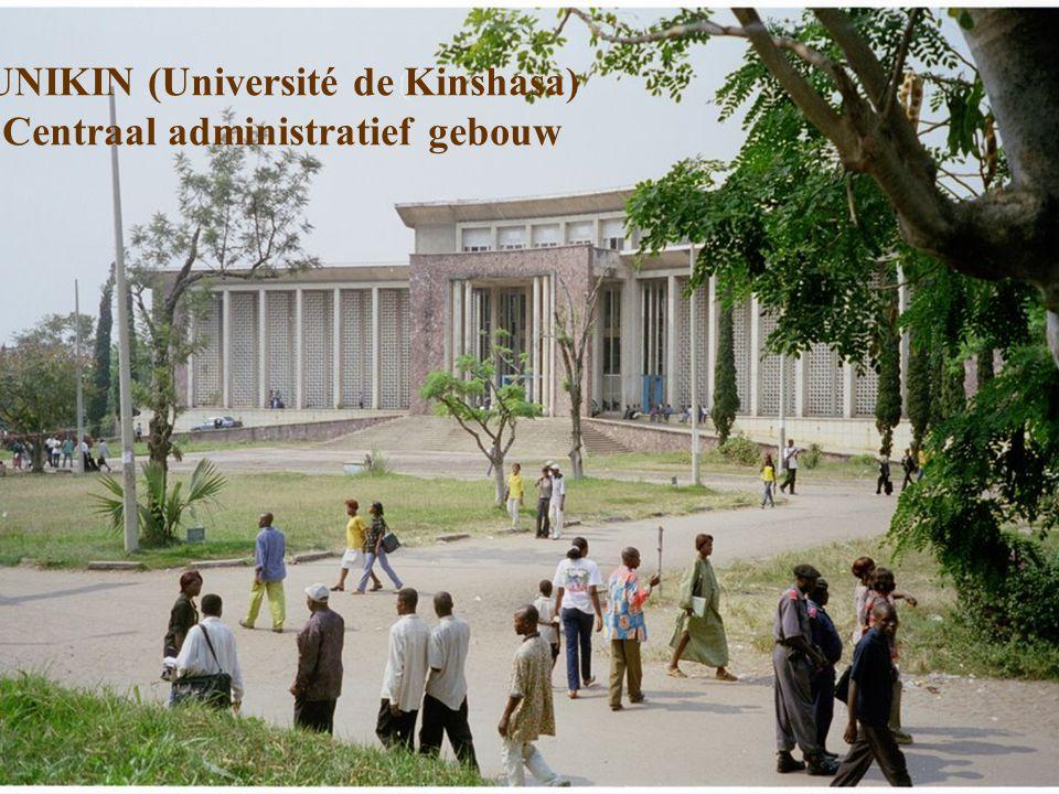 UNIKIN (Université de Kinshasa) Centraal administratief gebouw