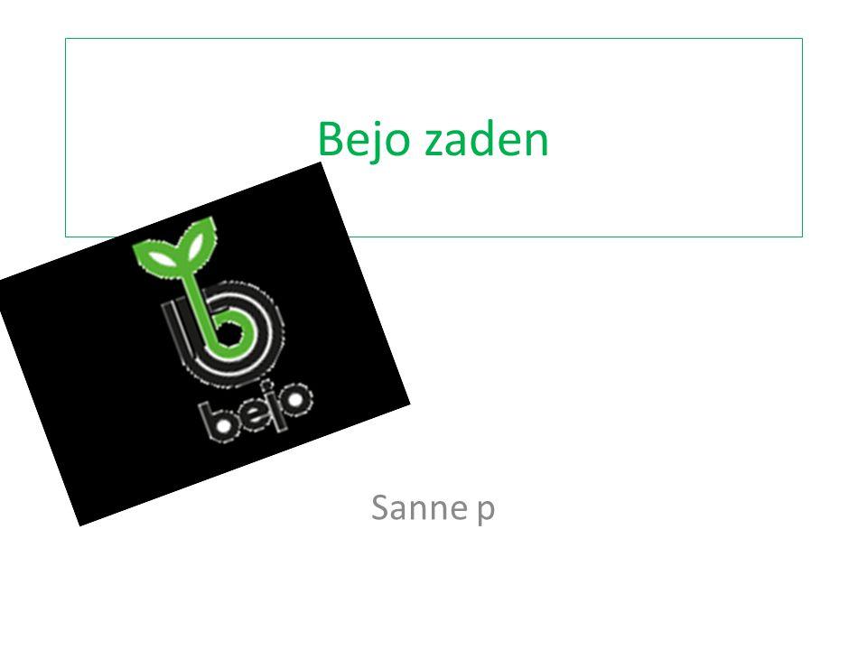 vragen 1..bejo-zaden is een bedrijf dat zaden produceert bewerkt en kweekt.