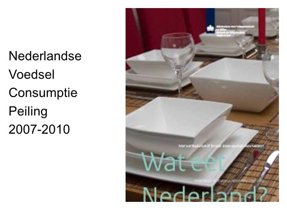 Nederlandse Voedsel Consumptie Peiling 2007-2010