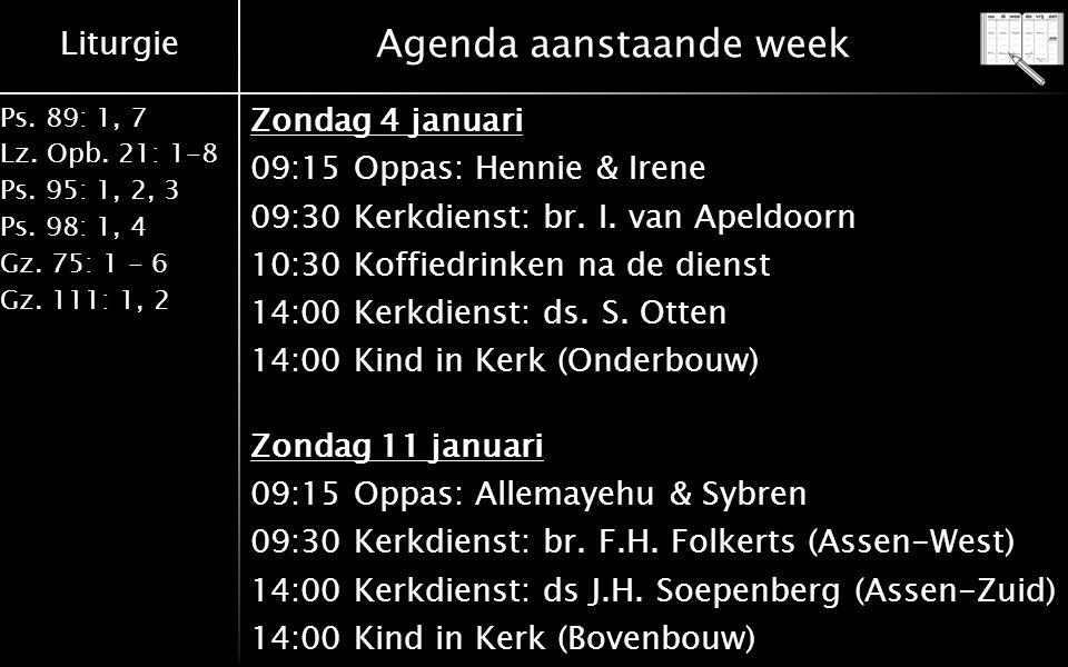 Afscheid ds.Stoffer Otten 2 Vrijdag 9 januari 2015 'Meet en greet' afscheidsavond ds.