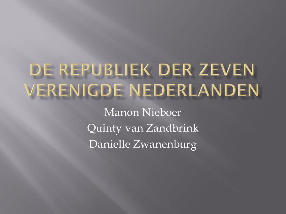Manon Nieboer Quinty van Zandbrink Danielle Zwanenburg