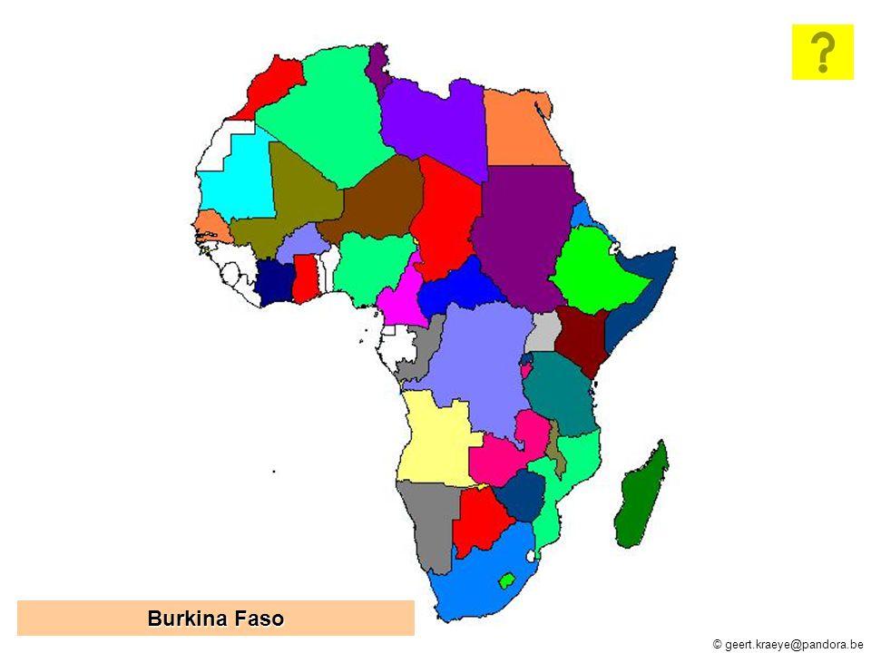 © geert.kraeye@pandora.be Zimbabwe Burkina Faso Burkina Faso Oeganda Centraal-Afrikaanse Republiek Centraal-Afrikaanse Republiek Tsjaad Congo Brazzaville Congo Brazzaville Zambia Kameroen Eritrea Lesotho Niger Marokko Ruanda Mozambique Namibië