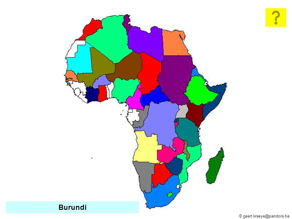© geert.kraeye@pandora.be Angola Burkina Faso Burkina Faso Burundi Centraal-Afrikaanse Republiek Centraal-Afrikaanse Republiek Kongo Democr.