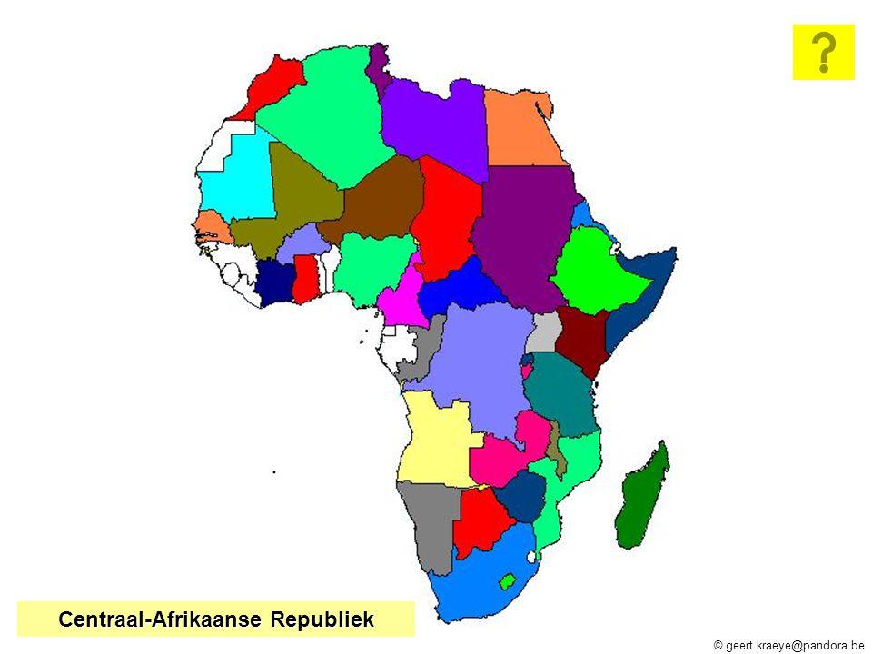 Tunesië Libië Egypte Soedan Eritrea Somalië Ethiopië Madagaskar Kenya Tanzania Mozambique Lesotho Zuid-Afrika Malawi Zimbabwe Namibië Angola Zambia Kongo Democr.