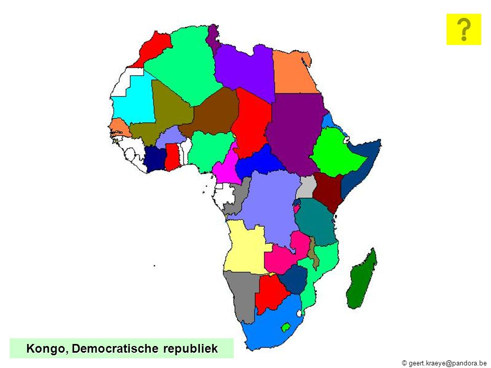 © geert.kraeye@pandora.be Congo-Brazzaville