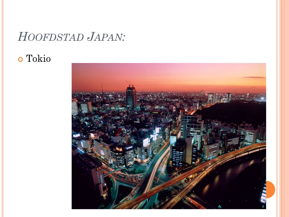 H OOFDSTAD J APAN : Tokio