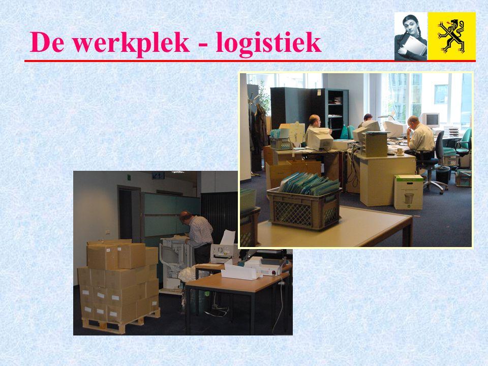 De werkplek - logistiek
