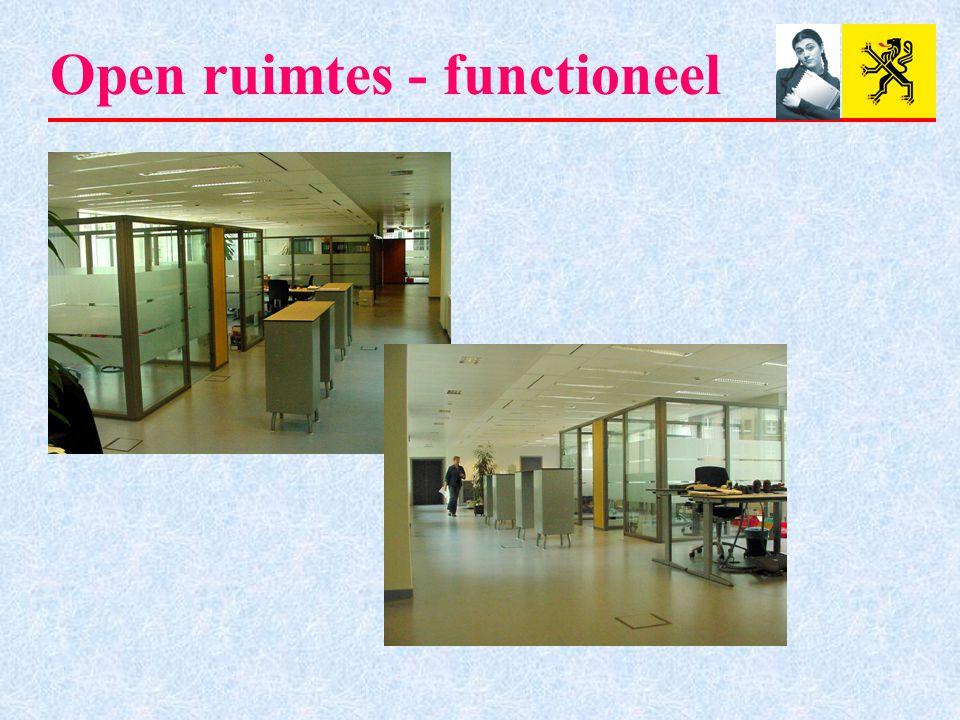 Open ruimtes - functioneel