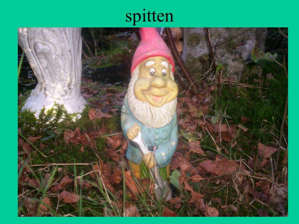 spitten