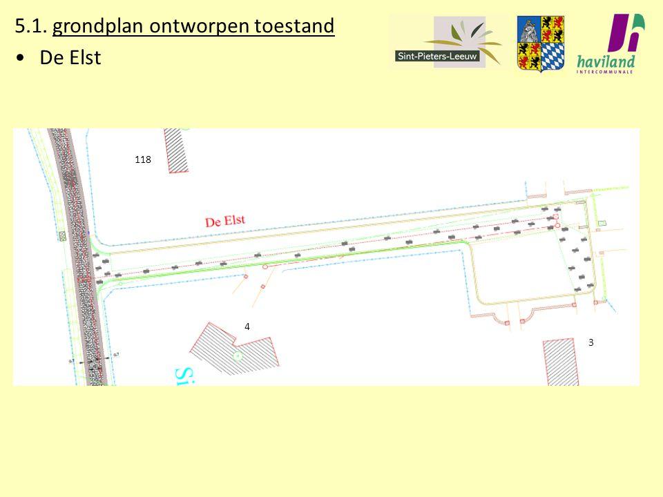 5.1. grondplan ontworpen toestand De Elst 4 3 118118 4 3 118