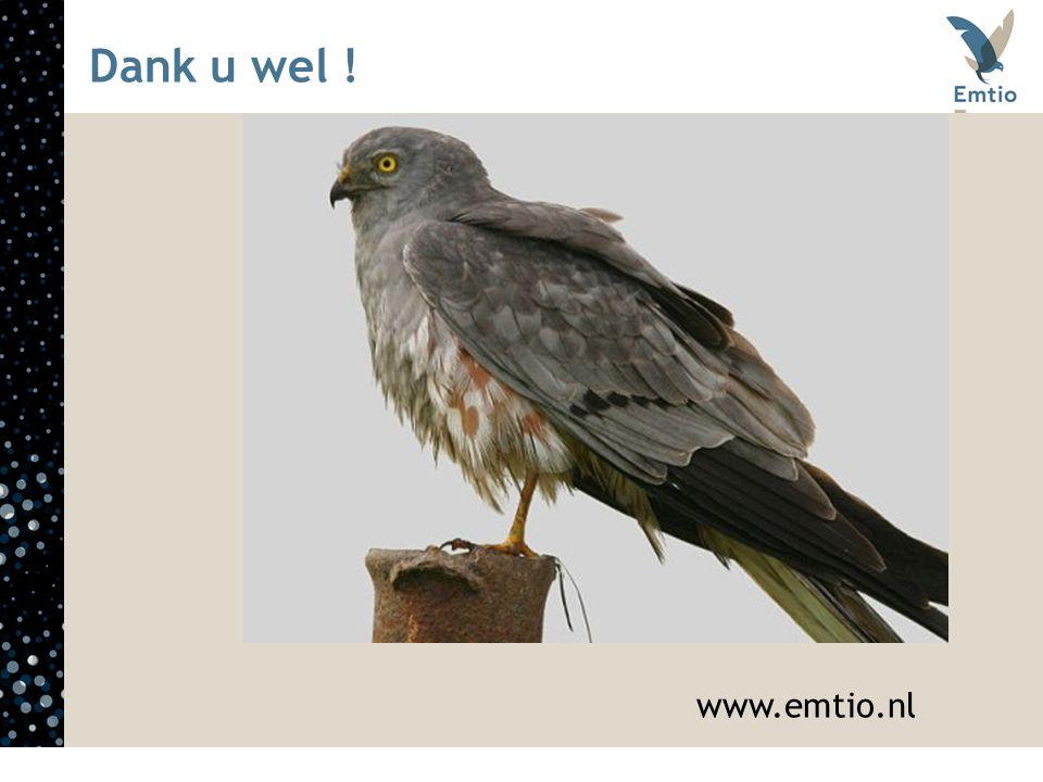 Dank u wel ! www.emtio.nl