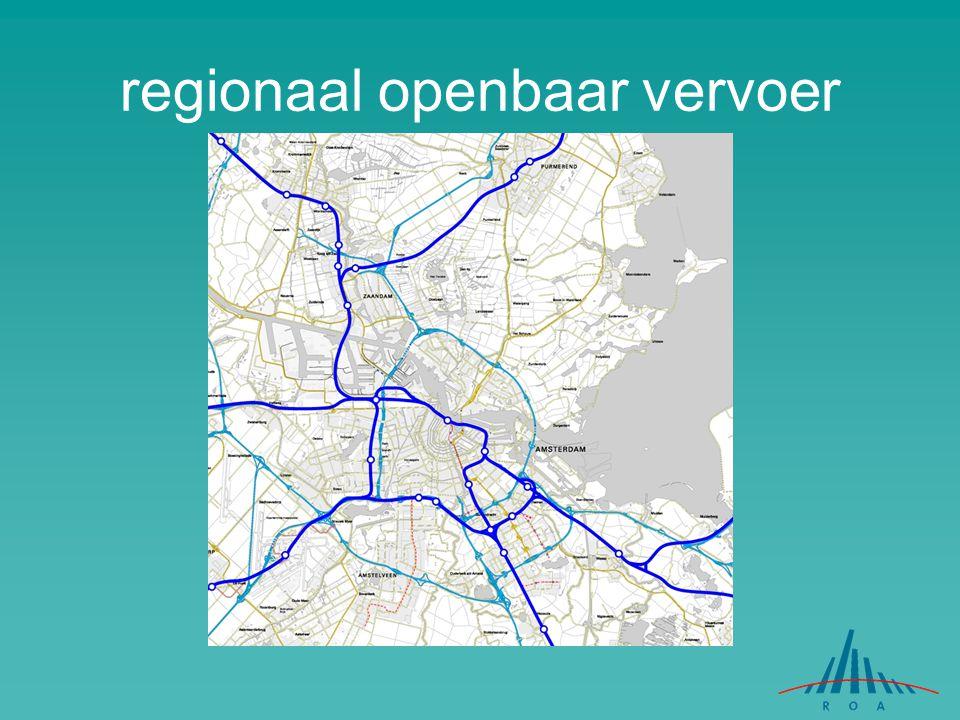 regionaal openbaar vervoer