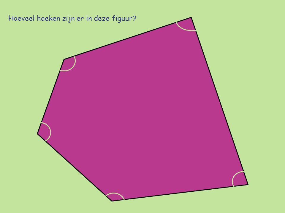 Hoeveel hoeken zijn er in deze figuur?