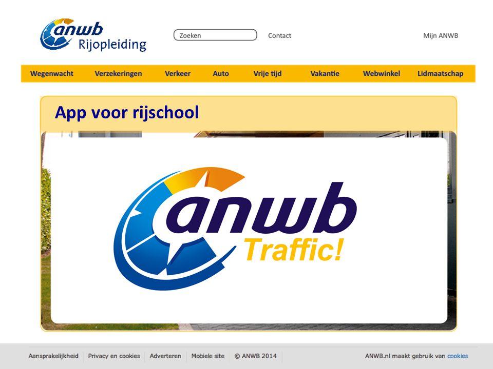 App voor rijschool