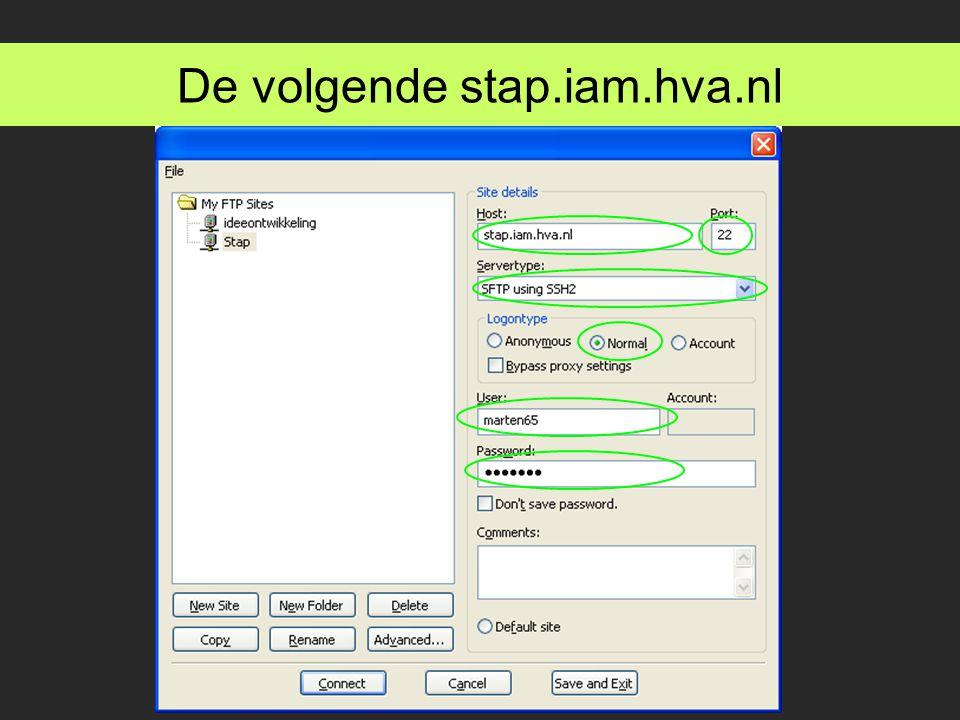 De volgende stap.iam.hva.nl