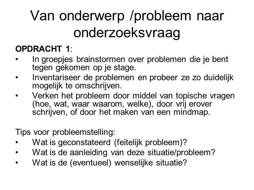 Probleem Er zijn twee soorten problemen: –Gesloten problemen = logische oplossing Definitie: Gesloten problemen hebben doorgaans een éénduidig te bepalen oplossing die door logisch redeneren kan gevonden worden.