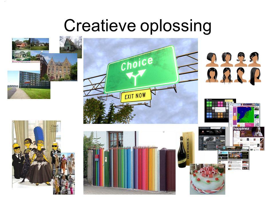 Creatieve oplossing