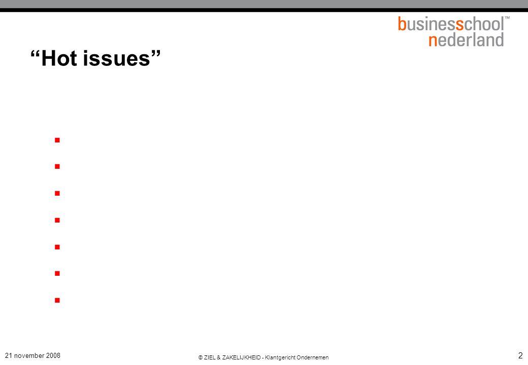 63 Uitdagingen rond meten en regelen van Klanttevredenheid  Wie is de klant .