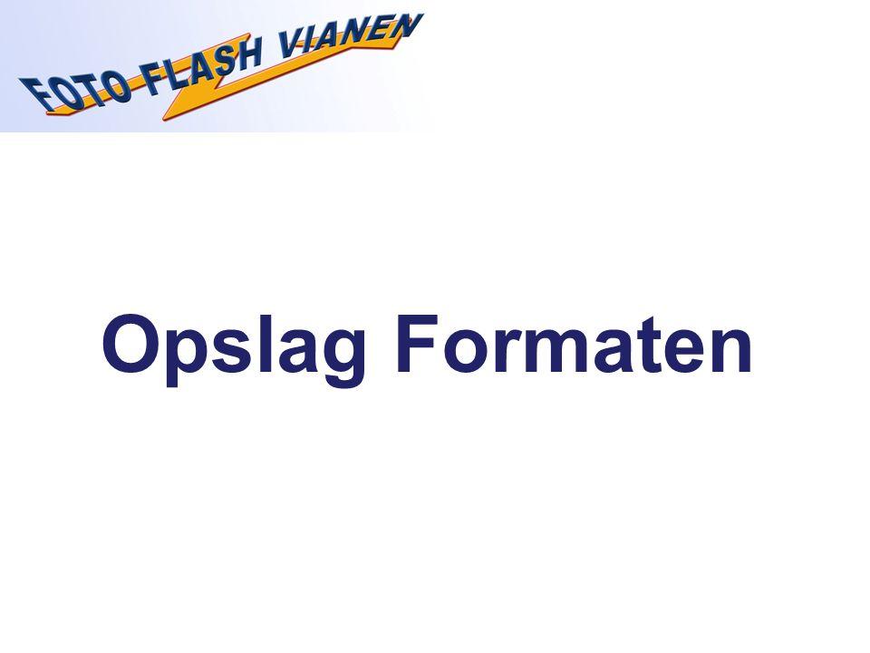 Opslag Formaten