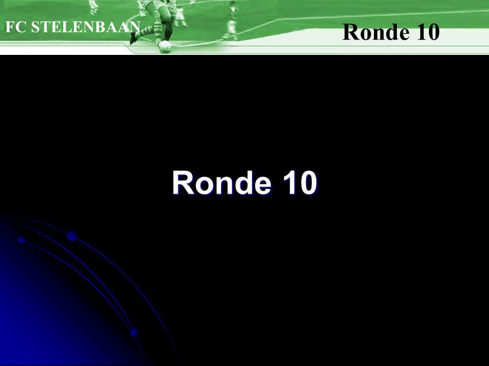 FC STELENBAAN Ronde 10