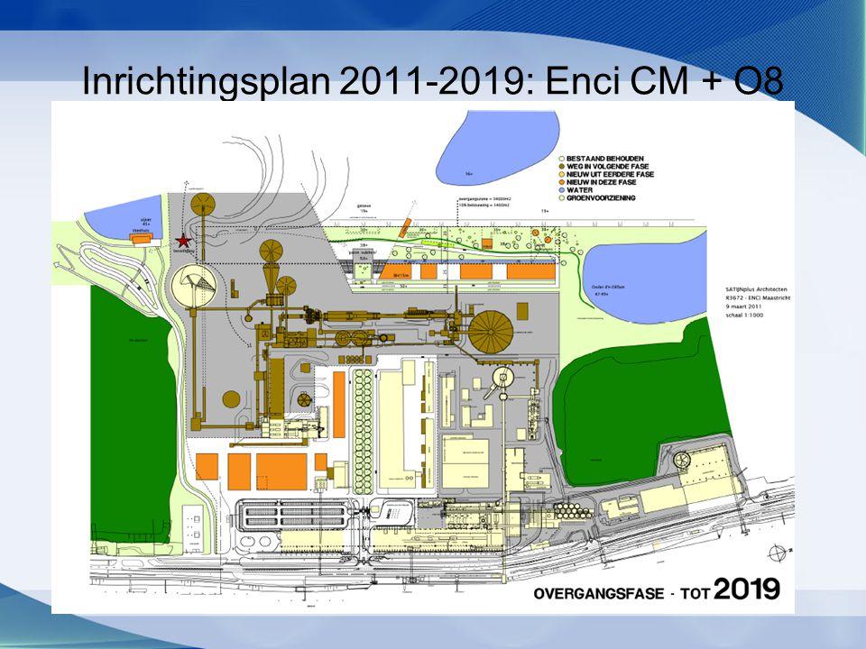 Inrichtingsplan 2011-2019: Enci CM + O8