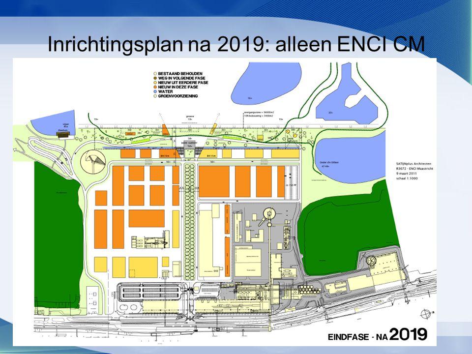 Inrichtingsplan na 2019: alleen ENCI CM