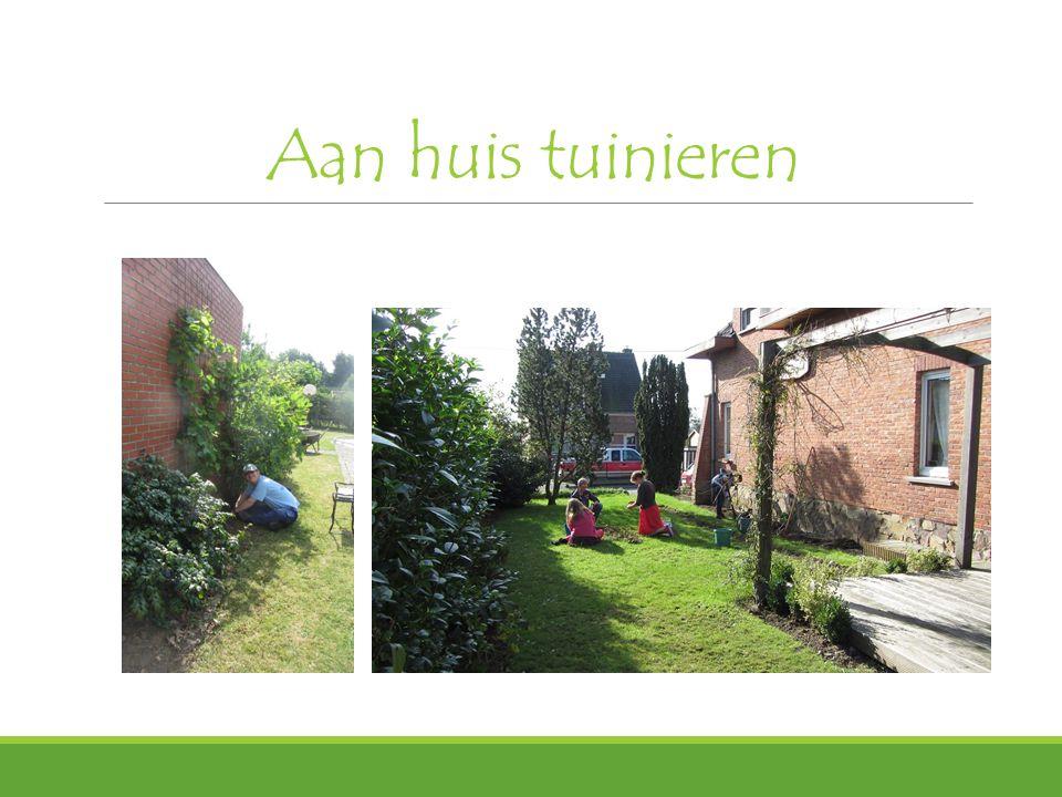 Aan huis tuinieren