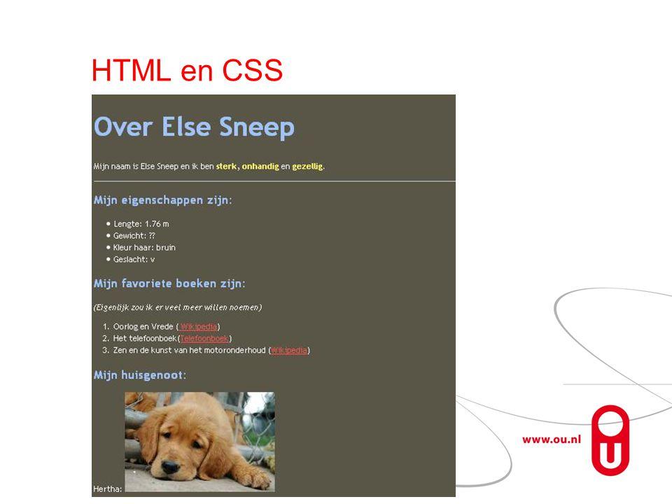 Statische deel Interactie beperkt Geen bewerkingen aan clientkant  Programmeren aan de clientkant: JavaScript