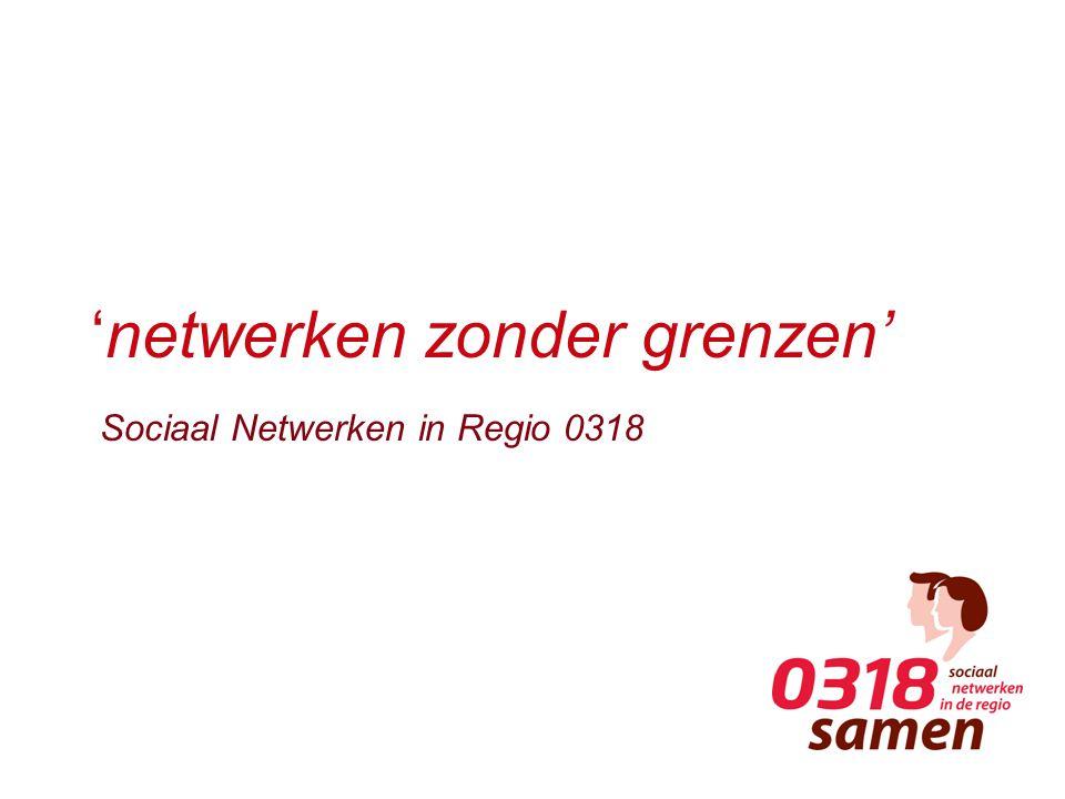 'netwerken zonder grenzen' Sociaal Netwerken in Regio 0318