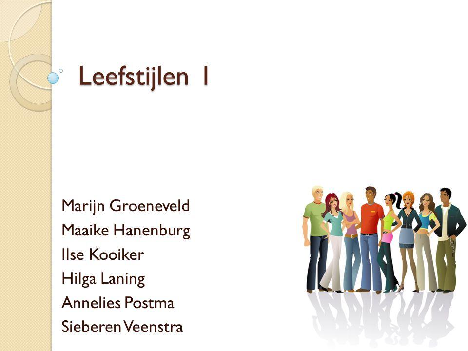 Inleiding Onderzoeksvraag : waarom zijn leefstijl groepen voor jongeren zo belangrijk?