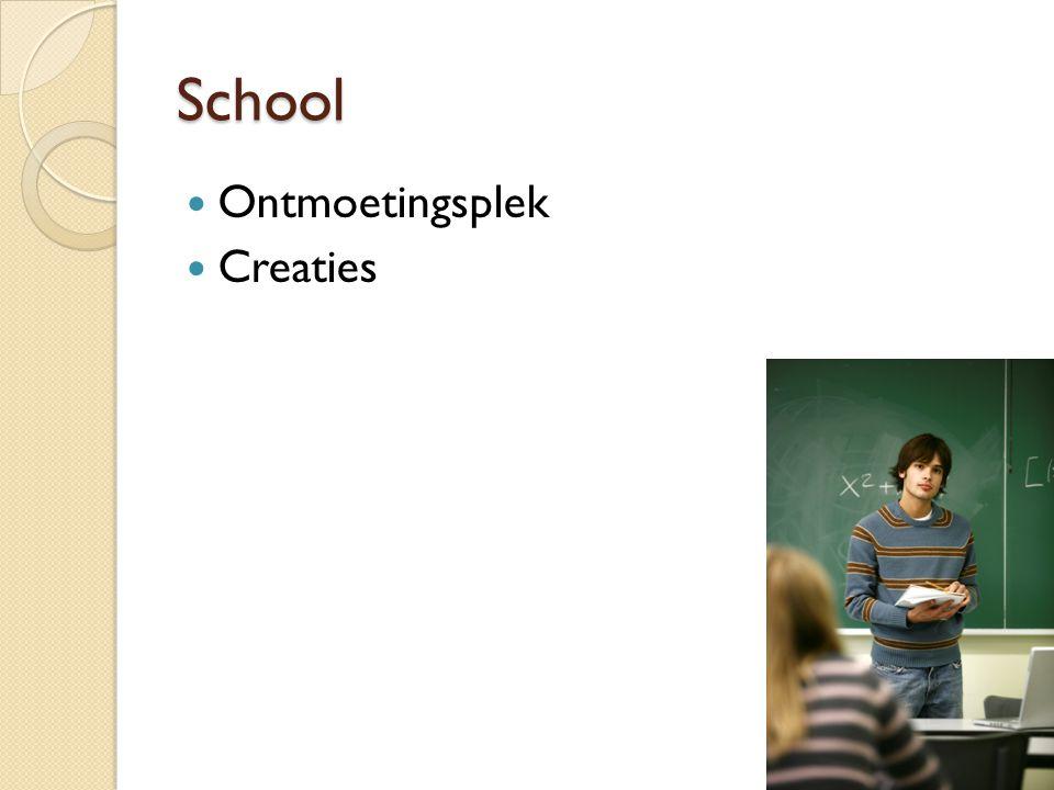 School Ontmoetingsplek Creaties