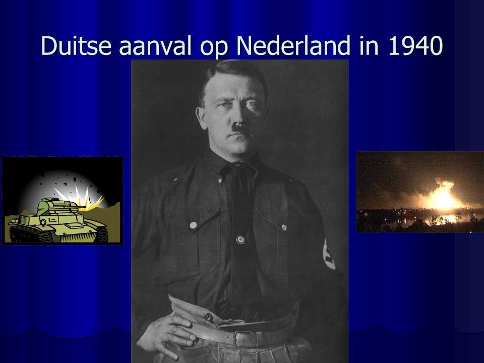Duitse aanval op Nederland in 1940