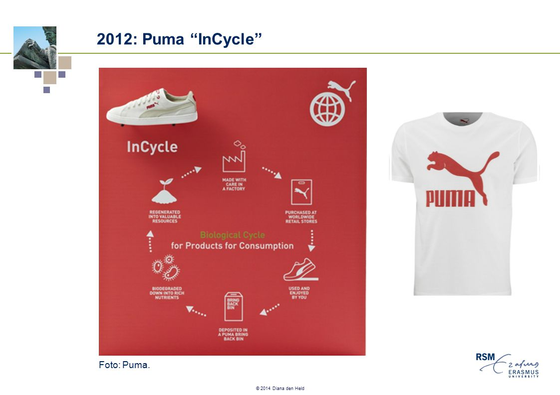 "© 2014 Diana den Held 2012: Puma ""InCycle"" Foto: Puma."